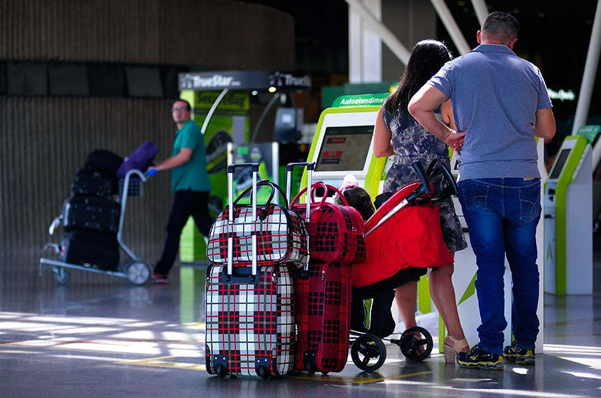 BIE - Aeroporto Internacional de Brasília - Presidente Juscelino Kubitschek.  Foto: Pedro França/Agência Senado