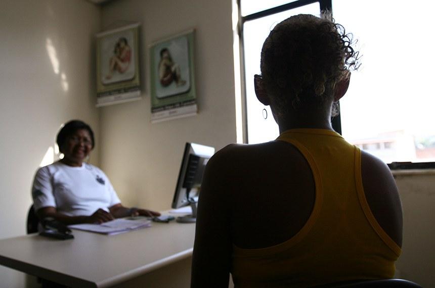 Delegacia de Atendimento à Mulher do bairro de Periperi, em Salvador (BA).  Ações do Governo da Bahia no combate à violencia contra mulher.