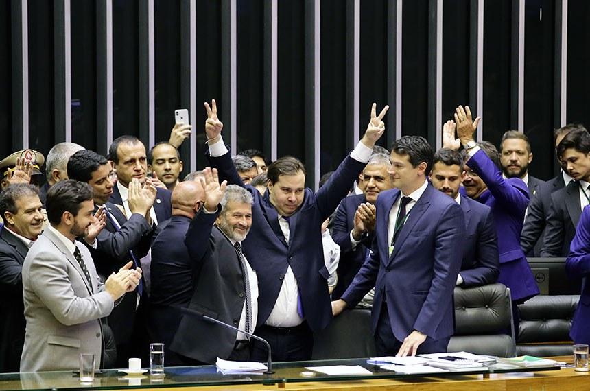 Dep. Rodrigo Maia (DEM-RJ) presidente da câmara eleito