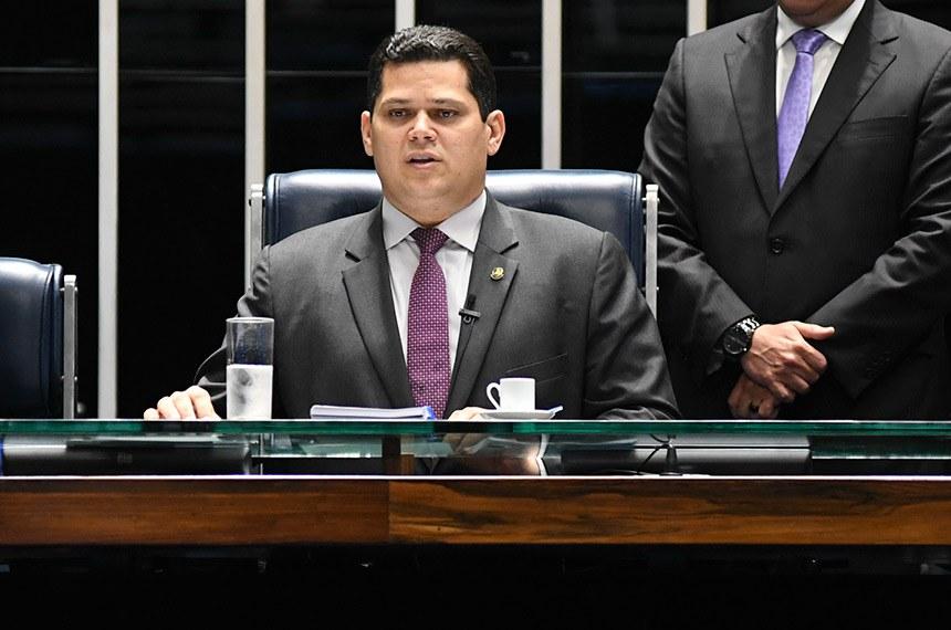 O presidente do Senado, Davi Alcolumbre, disse que definição das comissões caminha para um consenso entre os líderes