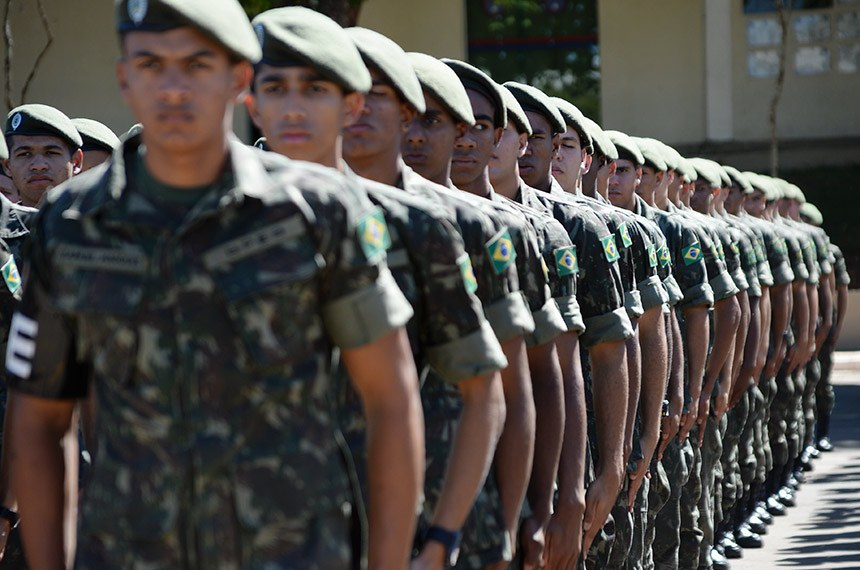 Ensaio para o Dia do Soldado  18/08/2014, Brasília - DF      Fotos: Jorge Cardoso