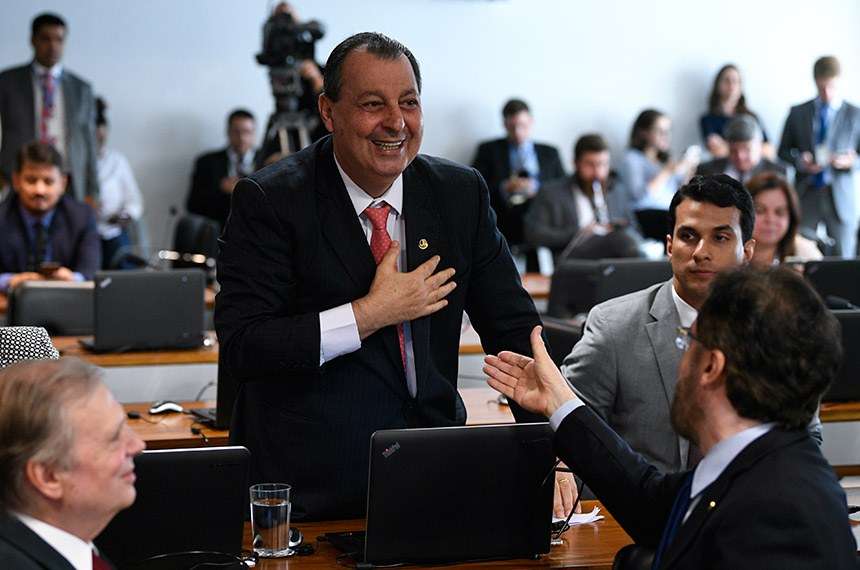 Comissão de Assuntos Econômicos (CAE) realiza   Foto: Pedro França/Agência Senado