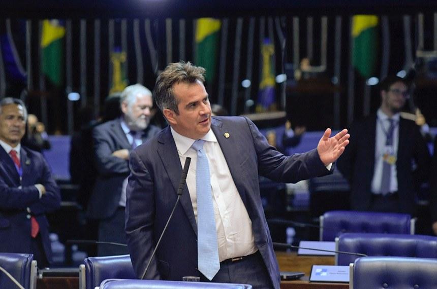 Plenário do Senado Federal durante sessão deliberativa ordinária. Ordem do dia.  Em pronunciamento, à bancada, senador Ciro Nogueira (PP-PI).  Foto: Roque de Sá/Agência Senado