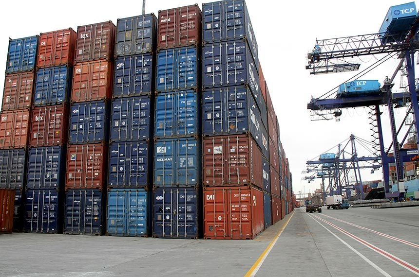 BIE - Cresce exportação de grãos por contêineres pelo Porto de Paranaguá.  Foto: Divulgação
