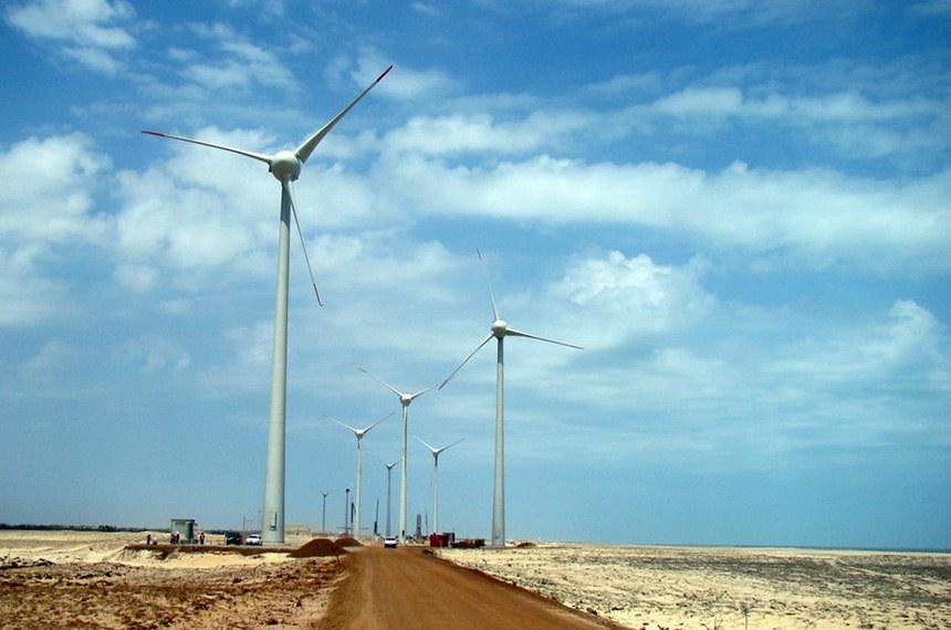 Energia Eólica - Pedra do Sal - Parnaíba