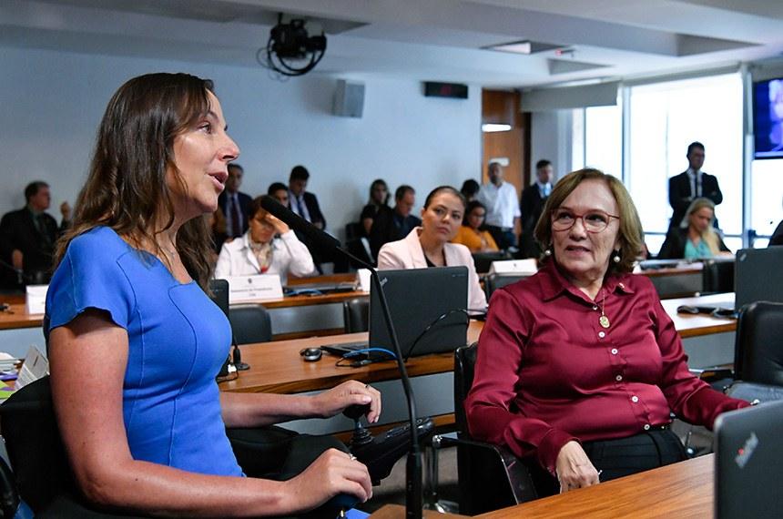 Mara Gabrilli (ao lado de Zenaide Maia) destaca desafio do poder público de garantir rede assistencial especializada