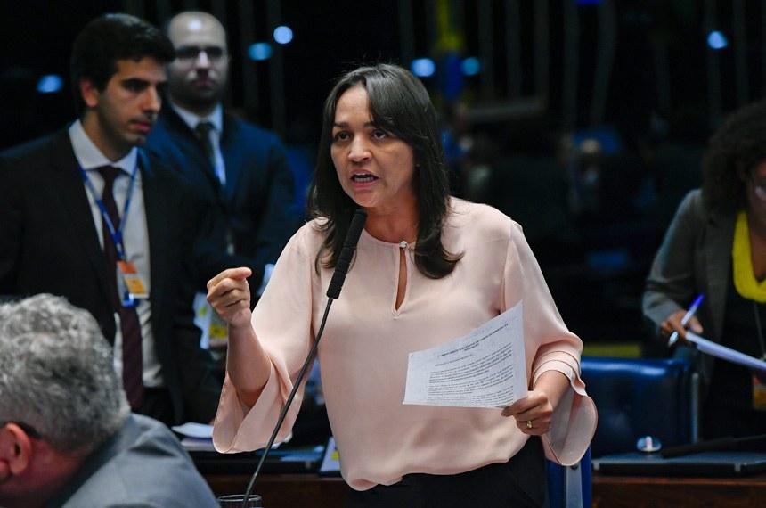 Para a senadora, com quadro de pessoal próprio, a Força Nacional poderia aumentar a sua importância no sistema de segurança pública e combate à criminalidade no país