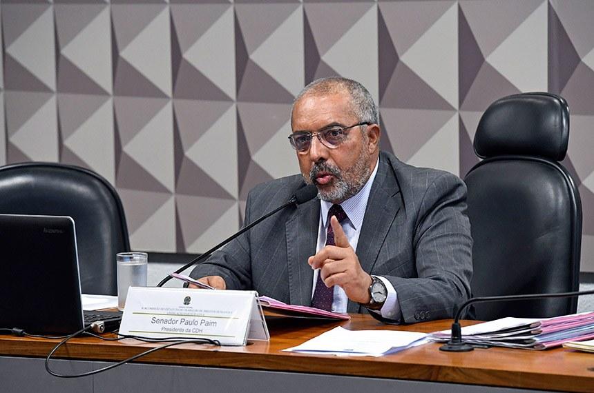 Paim diz que é fundamental esclarecer à população sobre a proposta de reforma na forma como foi enviada pelo governo Jair Bolsonaro