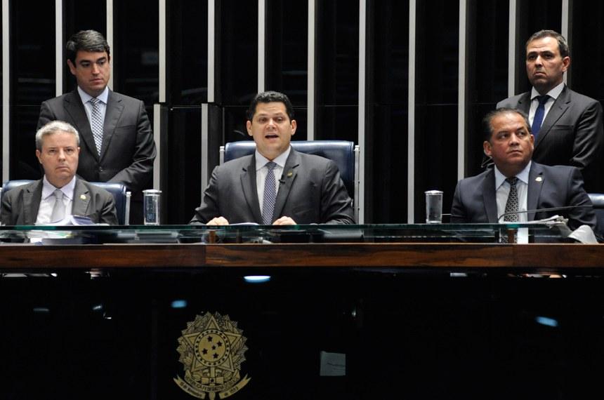 Plenário do Senado Federal durante sessão deliberativa ordinária.   Foto: Jonas Pereira/Agência Senado