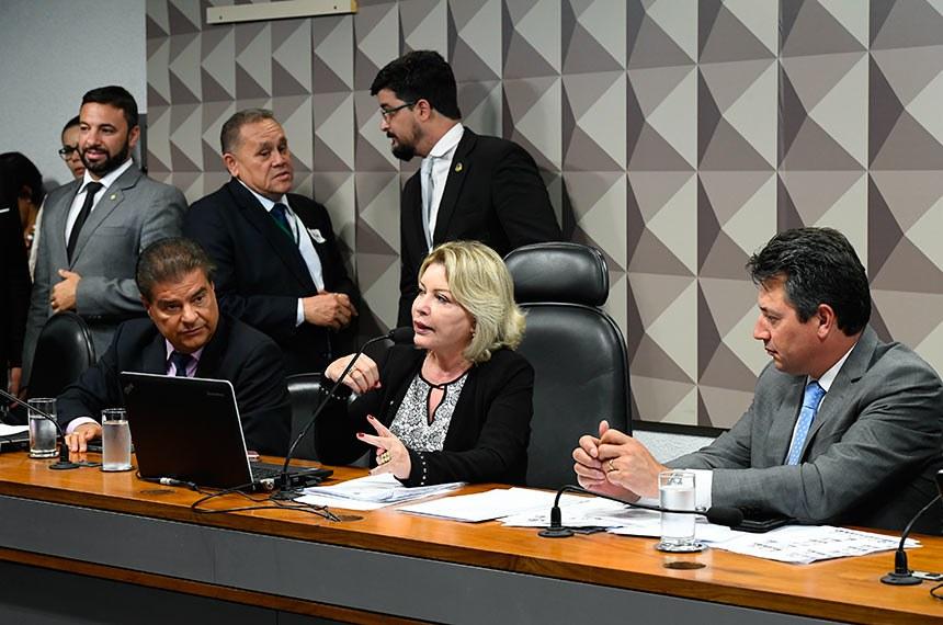 Comissão Mista da Medida Provisória (CMMPV) nº 867/2018, que trata sobre o Programa de Regularização Ambiental, realiza reunião para instalação e eleição de presidente e vice-presidente.  Foto: Marcos Oliveira/Agência Senado