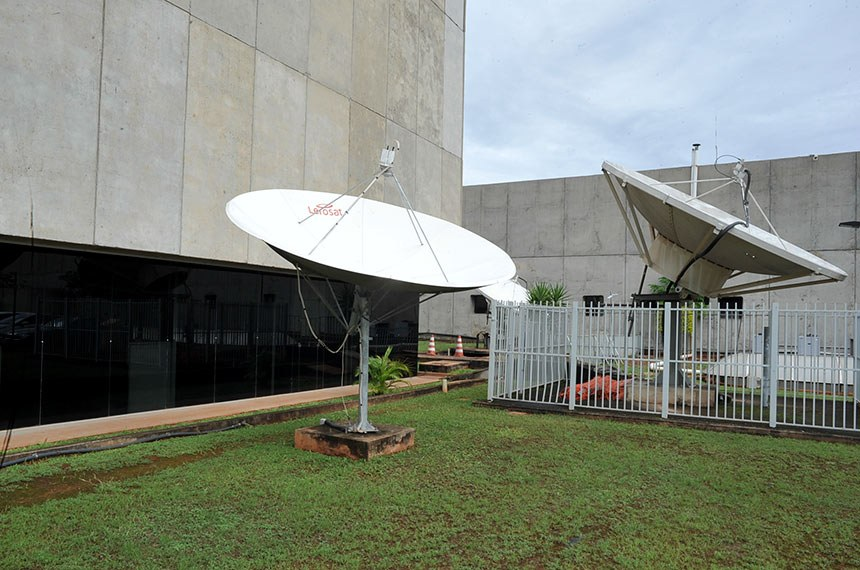 Antena Parabólica Digital no Senado Federal