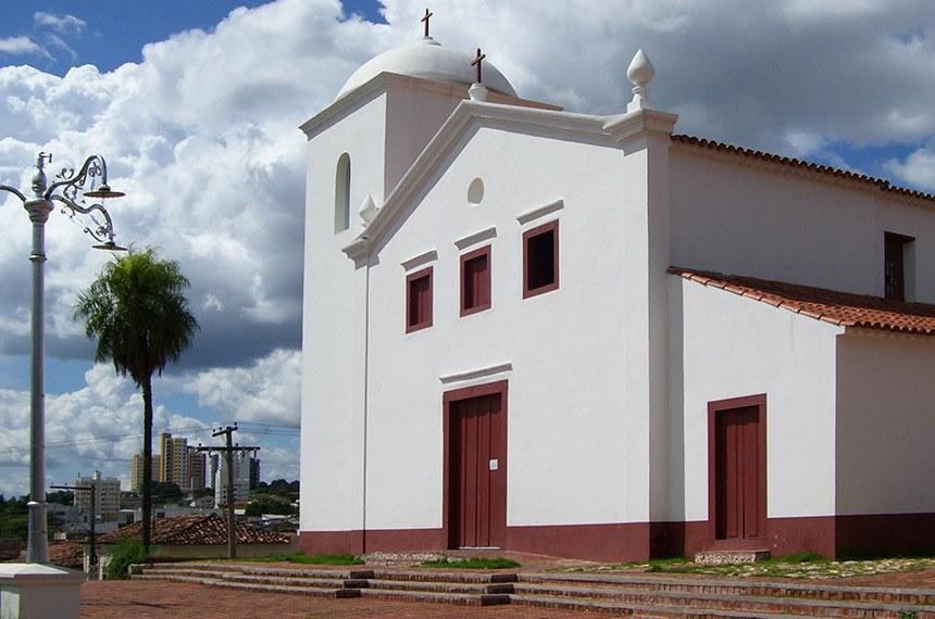 Igreja de Nossa Senhora do Rosário e Capela de São Benedito, Cuiabá, Mato Grosso, Brasil.