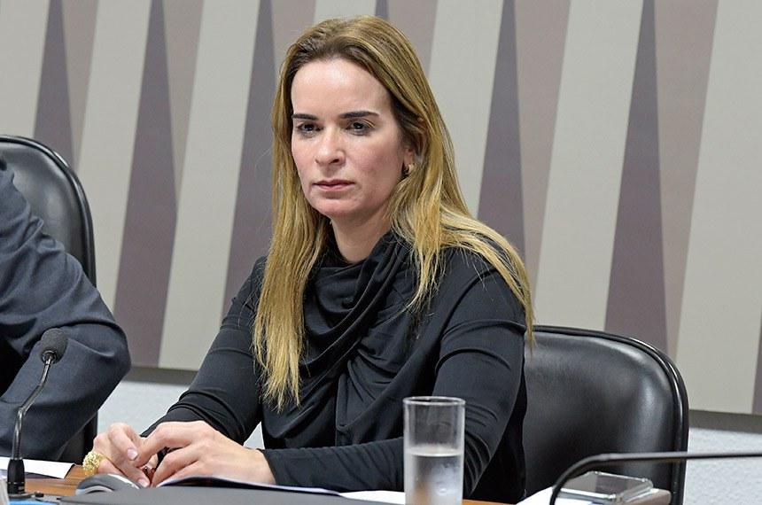 Comissão Mista da Medida Provisória nº 859, de 2018: (limita empréstimo do FGTS para hospitais filantrópicos): apreciação de relatório.  Mesa: relatora da CMMPV 859/2018, senadora Daniella Ribeiro (PP-PB) .  Foto: Roque de Sá/Agência Senado