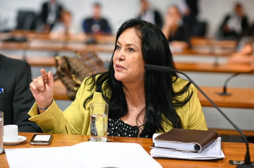 A senadora Rose de Freitas (Pode-ES) apresentou relatório favorável à matéria