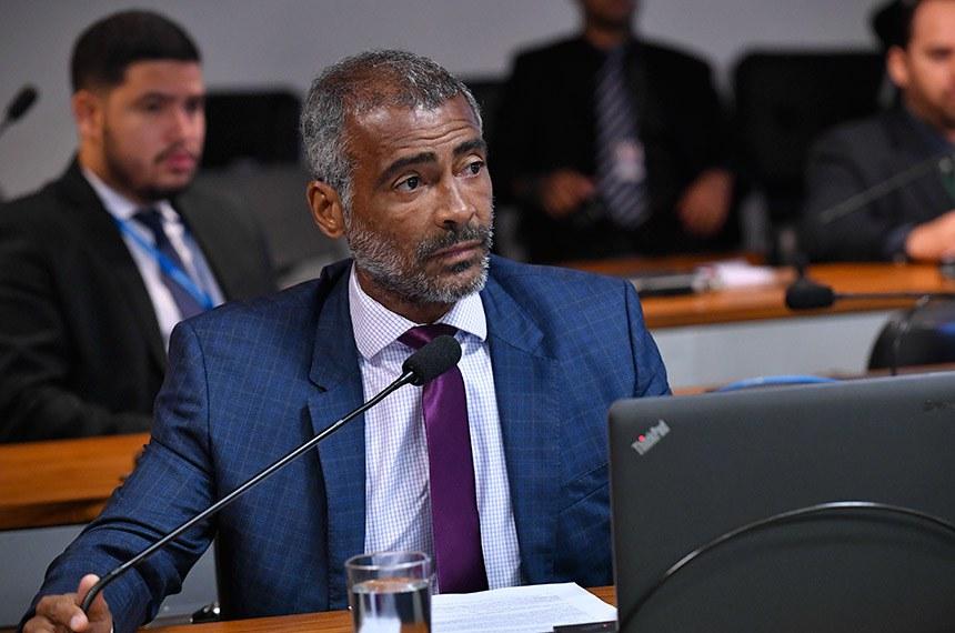 O senador Romário (Pode-RJ) acatou a sugestão popular em seu relatório, aprovado pela Comissão de Direitos Humanos e Legislação Participativa (CDH)