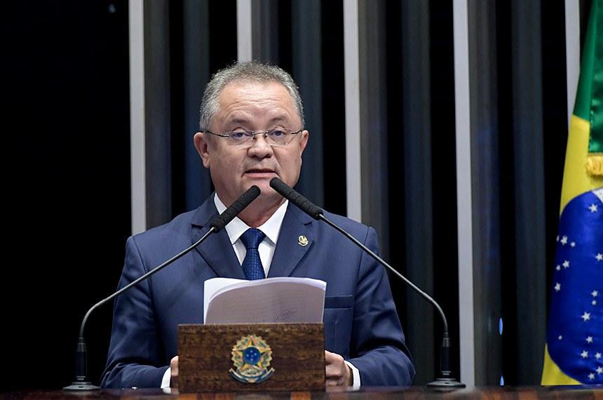 Plenário do Senado Federal durante sessão deliberativa ordinária.   À tribuna, em discurso, senador Zequinha Marinho (PSC-PA).  Foto: Waldemir Barreto/Agência Senado