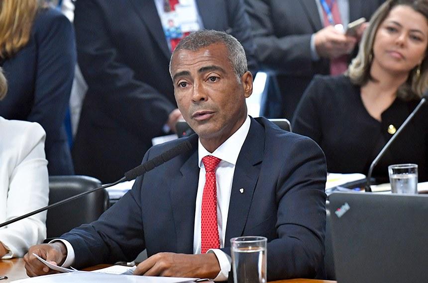 O senador Romário (Pode-RJ) apresentou relatório favorável à sugestão legislativa, que passa a tramitar como projeto de lei