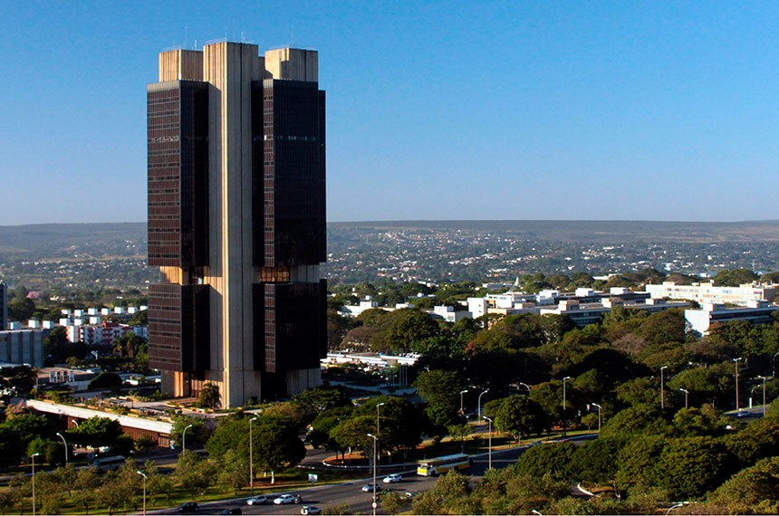 Edifício sede do Banco Central em Brasília-DF.