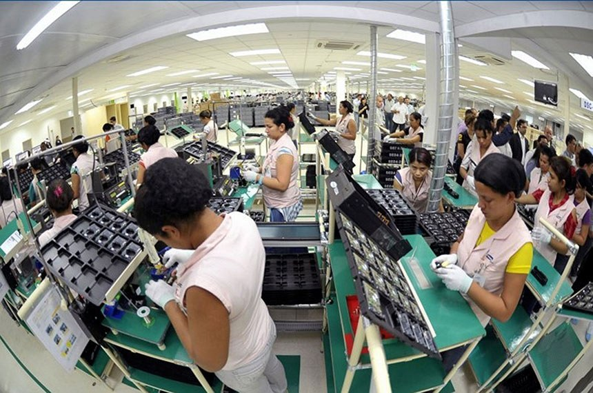 Ministério Público do Trabalho (MPT) aponta infrações na fábrica da Samsung na Zona Franca de Manaus. Em 2012, aconteceram 2.018 pedidos de afastamento por problemas de saúde.  Foto: Alex Pazzuelo/Agência de Comunicações do Governo do Estado do Amazonas