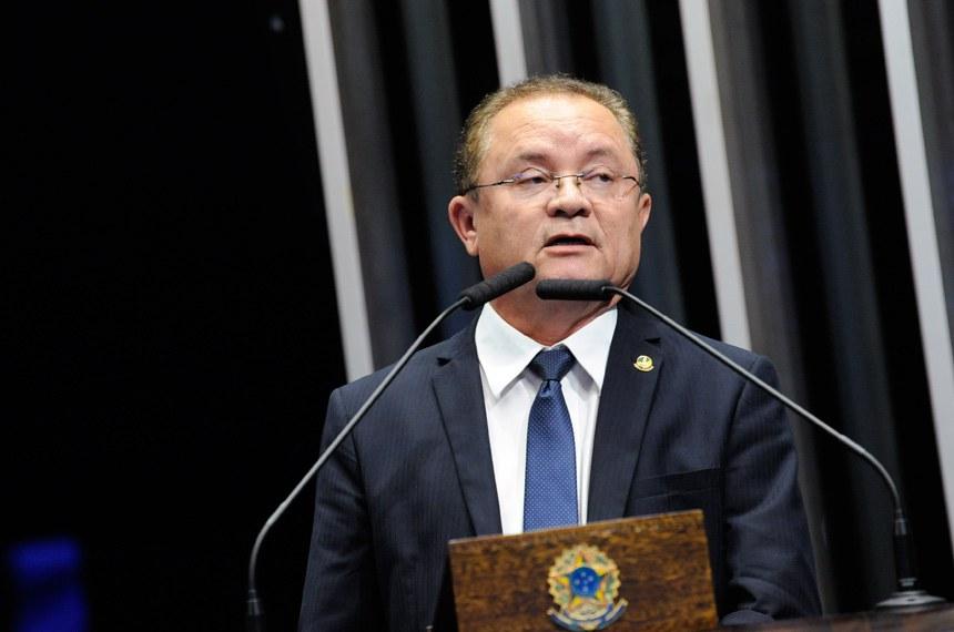 Plenário do Senado Federal durante sessão deliberativa ordinária.   Em discurso, à tribuna, senador Zequinha Marinho (PSC-PA).  Foto: Roque de Sá/Agência Senado