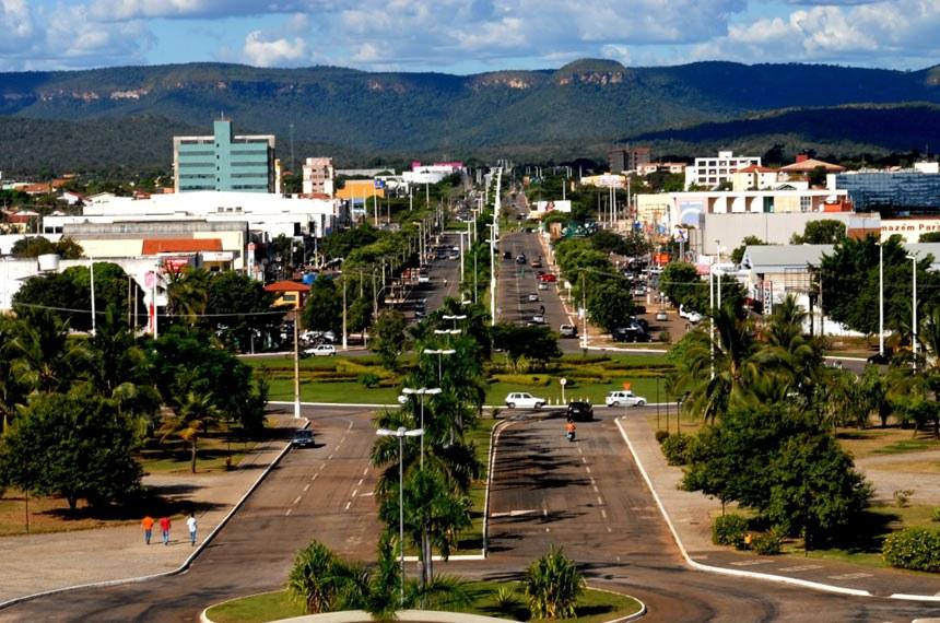 A cidade tocantinense também foi planejada, como Brasília
