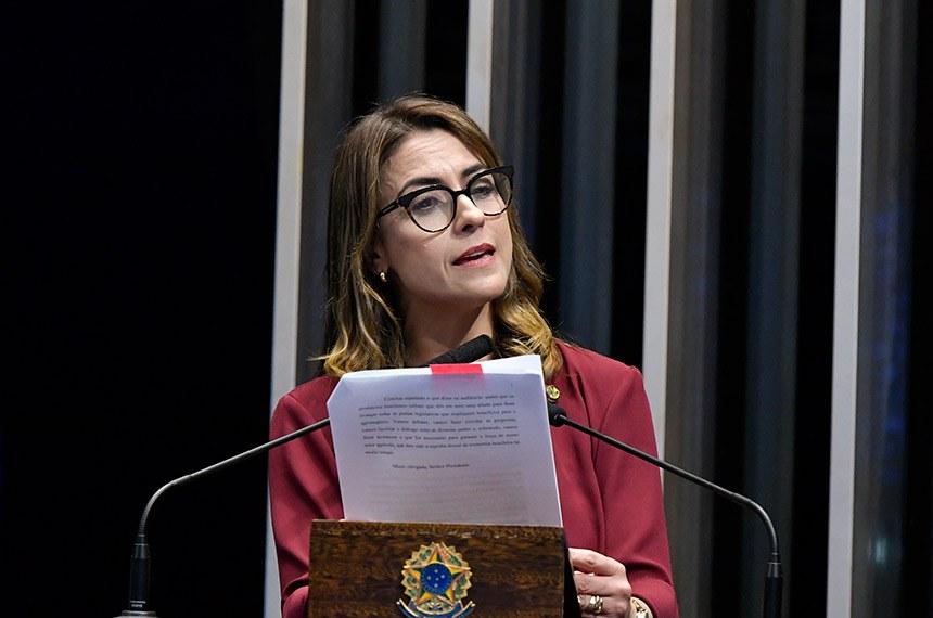 Ao comentar resultados de audiência pública com produtores rurais, a senadora avaliou que o governo confia na agricultura brasileira e reconhece a força do setor e a sua importância para a economia nacional