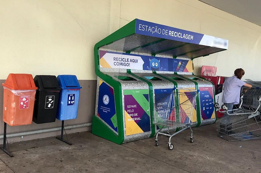 MPMS busca responsabilização de empresas que não se comprometem a investir em reciclagem de resíduos sólidos  Foto Reciclagem de resíduos sólidos carrefour