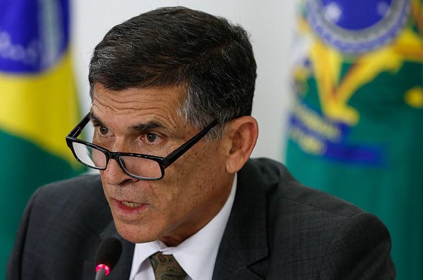 (Brasília - DF, 09/05/2019) Palavras do Ministro-Chefe da Secretaria de Governo da Presidência da República Santos Cruz. Foto: Carolina Antunes/PR