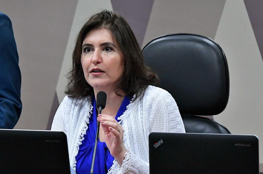 A presidente da CCJ, senadora Simone Tebet, não acredita que a matéria seja incluída na pauta de última hora