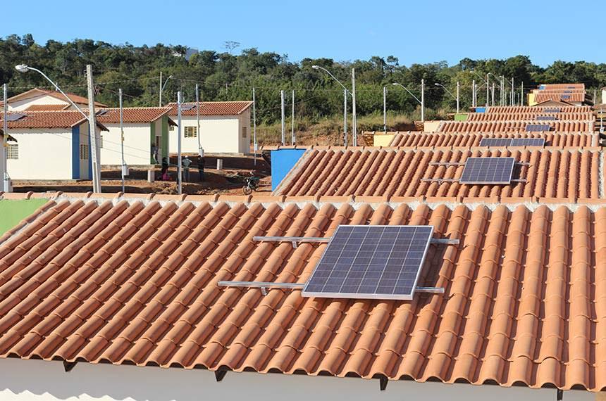 Energia solar em imóveis do Minha Casa, Minha Vida em Goiás: uso sustentável do recurso deve ser diretriz no programa federal, determina o projeto