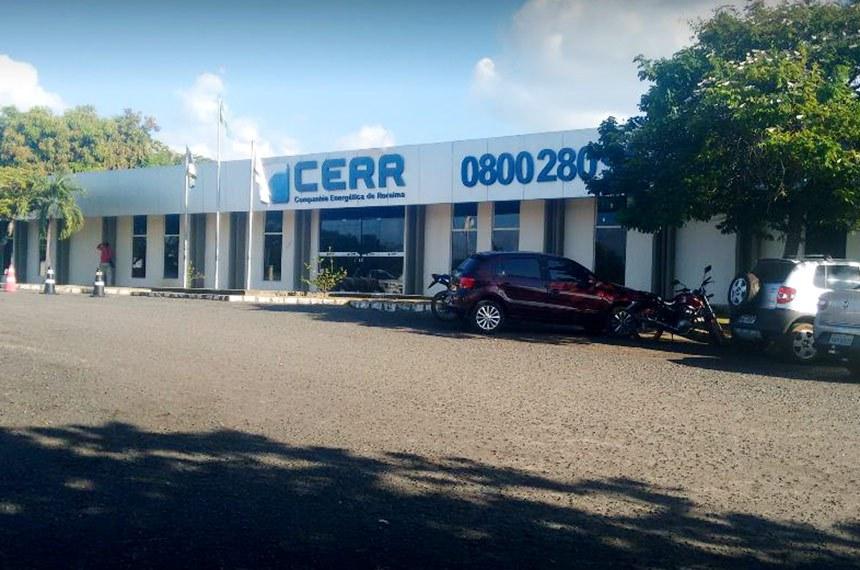 Fachada da CERR - Companhia Energética Roraima.
