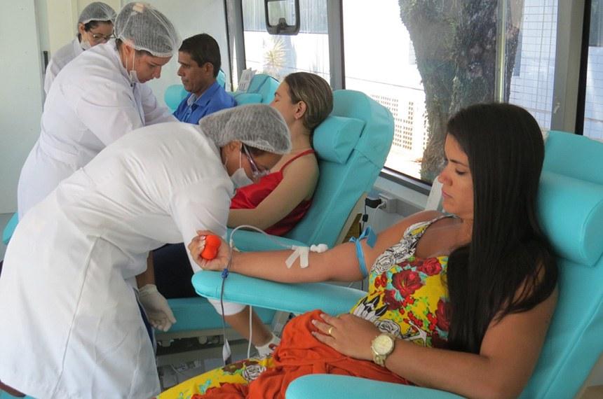 02/08/2017 14h41 - Atualizado em 02/08/2017 14h42 Hemoes alerta para a importância de doar sangue regularmente  Doação de sangue no Espírito Santo.