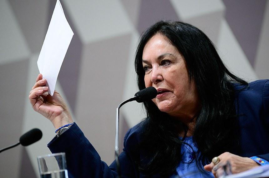 O povo exige transparência nos atos de seus representantes, defende Rose de Freitas, autora da proposta