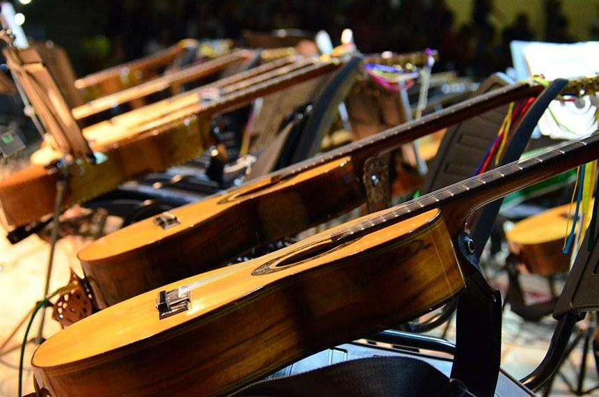 08.08.2014 FLIV - Show Orquestra Paulistana de Viola Caipira 08-08-14 (10)  Foto: André Luiz D. Takahashi