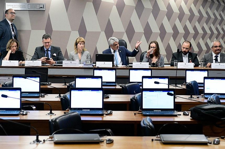 CCJ realiza audiência pública interativa para instruir o PL 1.864/2019