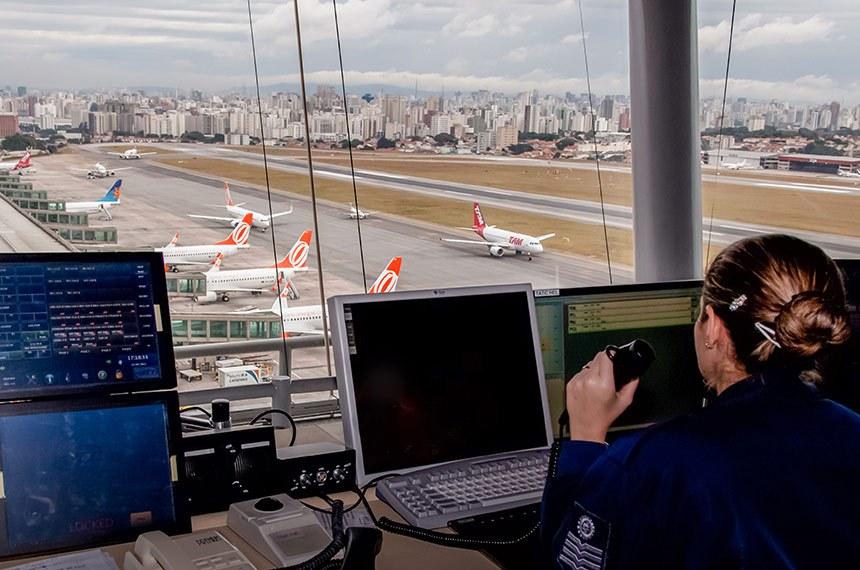 Torre de Congonhas, controlador de vôo.