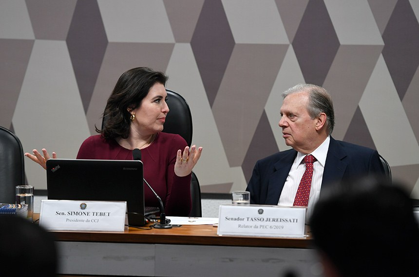 CCJ inicia debate sobre reforma da Previdência