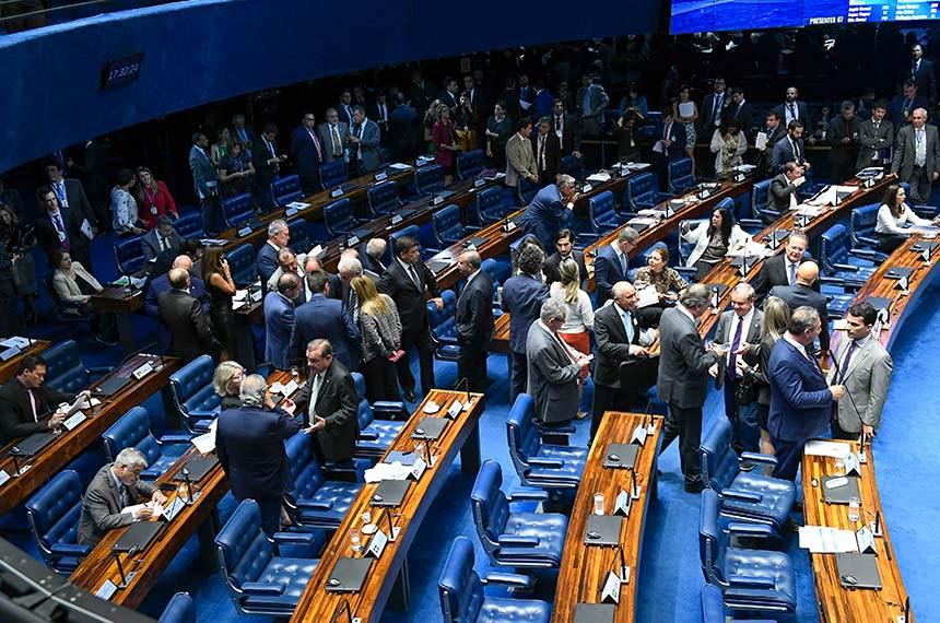 Geral do Plenário do Senado Federal durante sessão deliberativa ordinária. Ordem do dia.   Foto: Roque de Sá/Agência Senado