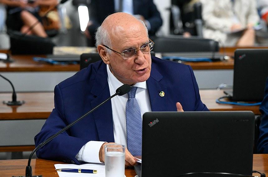O senador Lasier Martins é o relator da medida provisória