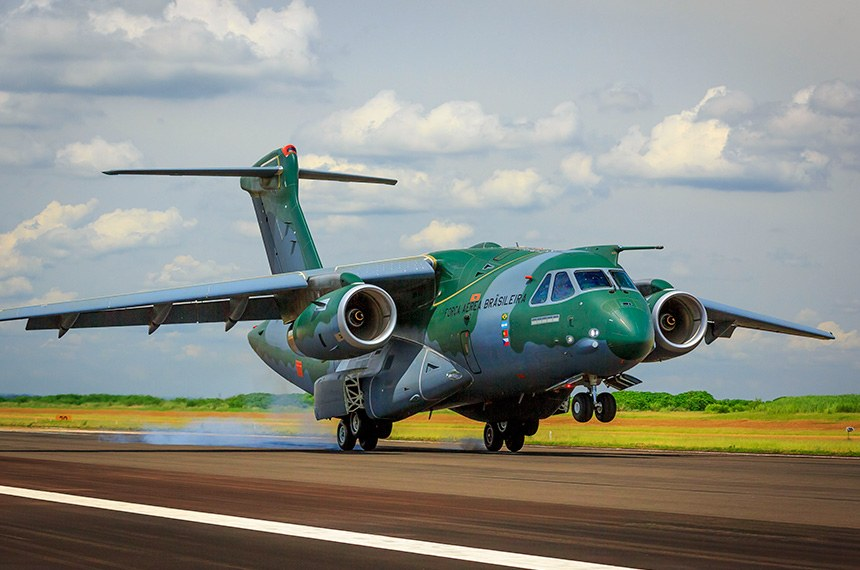 09.03.2016 KC-390, a nova aeronave de transporte da Força Aérea Brasileira