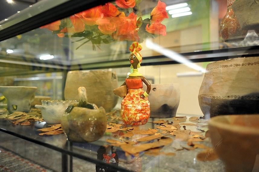 Artesanato do estado do Amapá faz parte da exposição