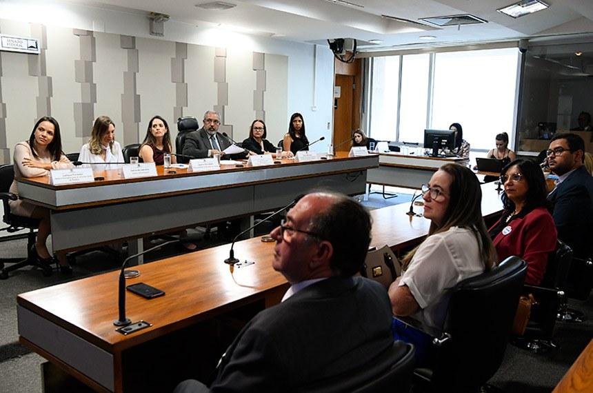 Reunião da Comissão de Direitos Humanos foi presidida pelo senador Paulo Paim