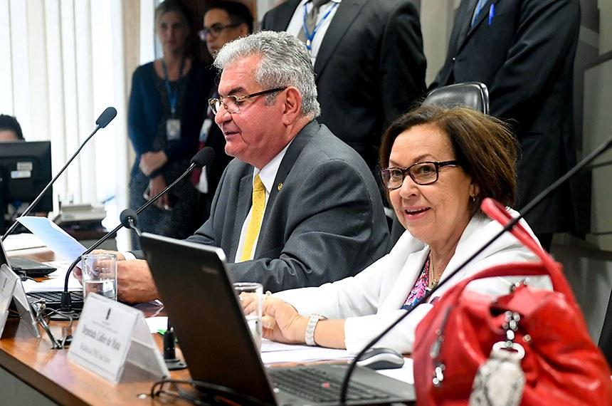 A Comissão Parlamentar Mista de Inquérito (CPMI) das Fake News    Foto: Jane de Araújo/Agência Senado