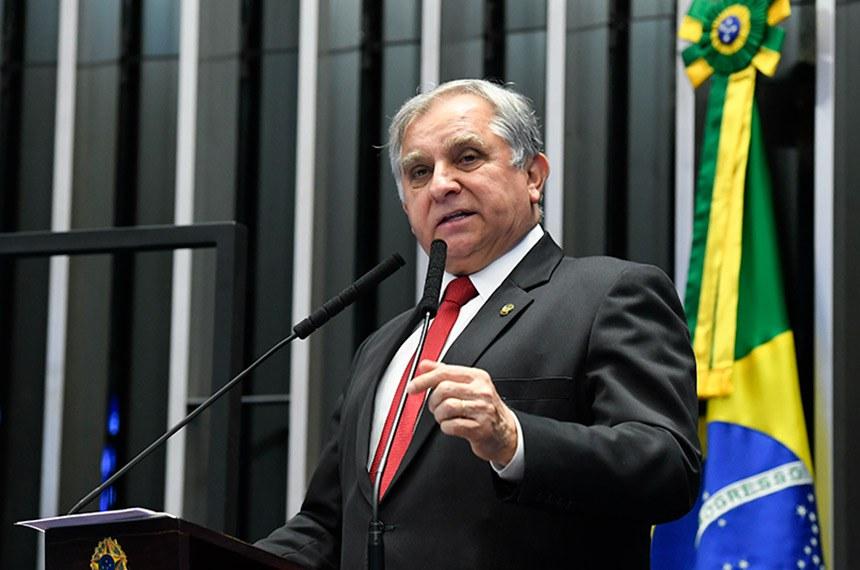 Plenário do Senado Federal durante sessão não deliberativa.   Em discurso, à tribuna, senador Izalci (PSDB-DF).  Foto: Roque de Sá/Agência Senado