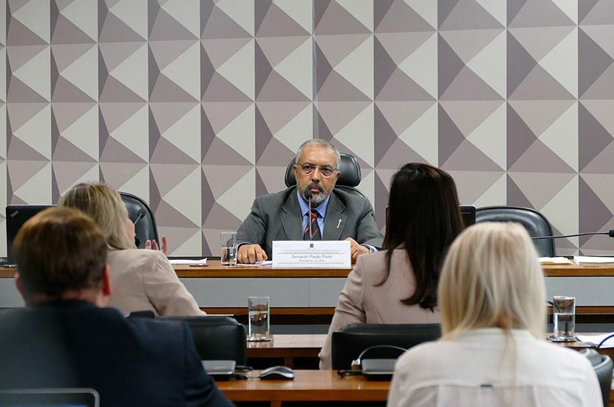 Audiência pública foi pedida pelo presidente da CDH, Paulo Paim