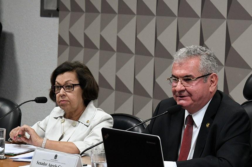 Deputada Lídice da Mata e senador Angelo Coronel: relatora e presidente da CPI das Fake News