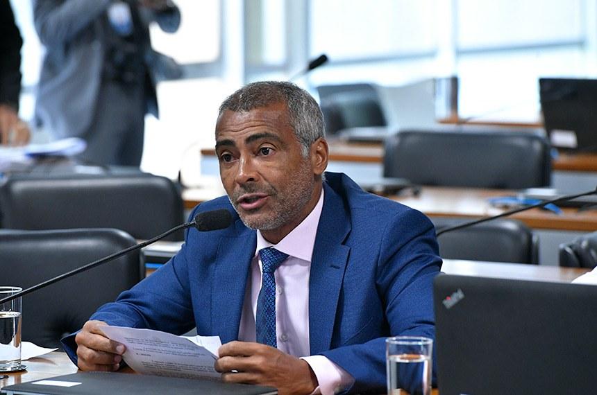 """Romário, relator do projeto: """"Mais que formarmos atletas, é importante que formemos cidadãos"""""""