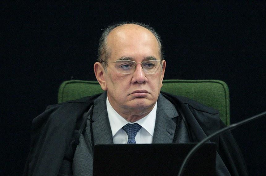 Ministro Gilmar Mendes durante sessão da Segunda Turma do STF. Foto: Carlos Moura/SCO/STF (15/10/2019)