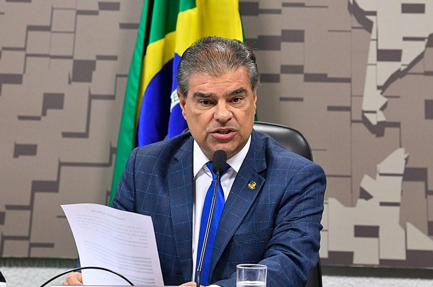 Nelsinho Trad, presidente da Comissão de Relações Exteriores, durante reunião desta quinta-feira