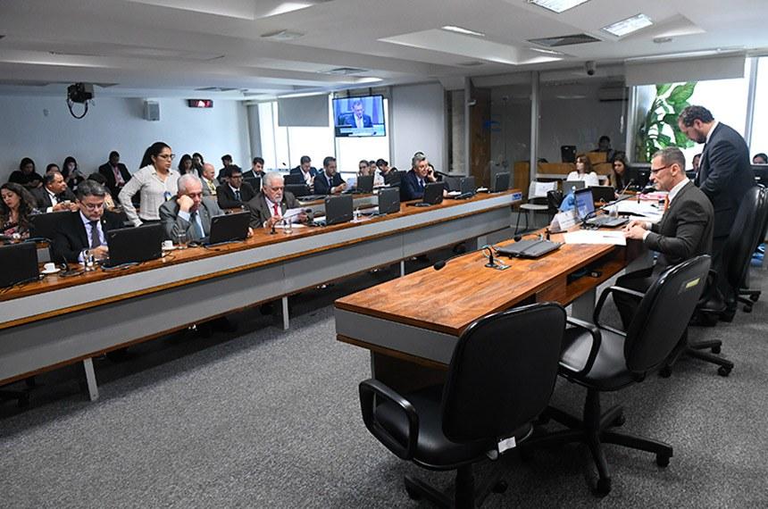 Presidente da CMA, senador Fabiano Contarato (Rede-ES) solicitou a realização da audiência pública
